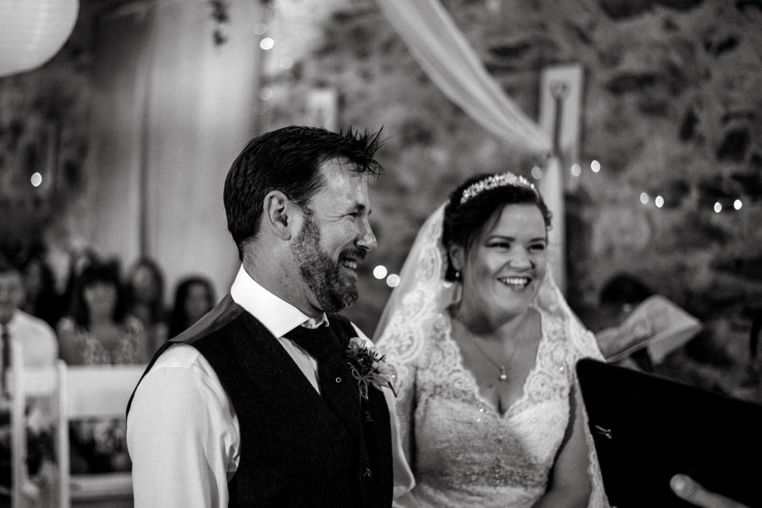 Hafod Farm Wedding - Hafod Farm wedding ceremony