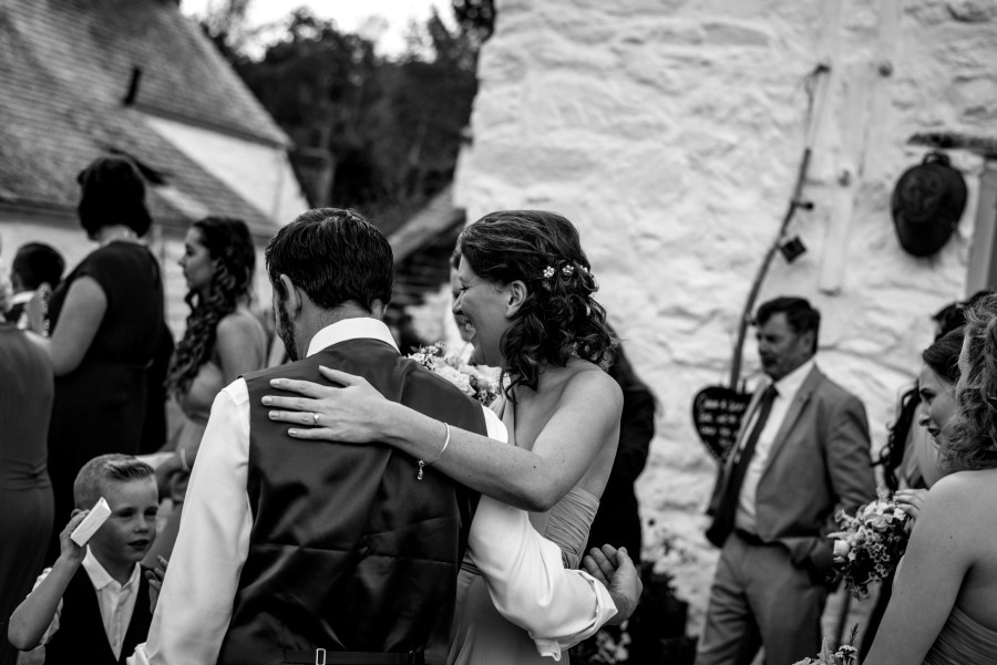 Hafod Farm Wedding - Outside at Hafod Farm