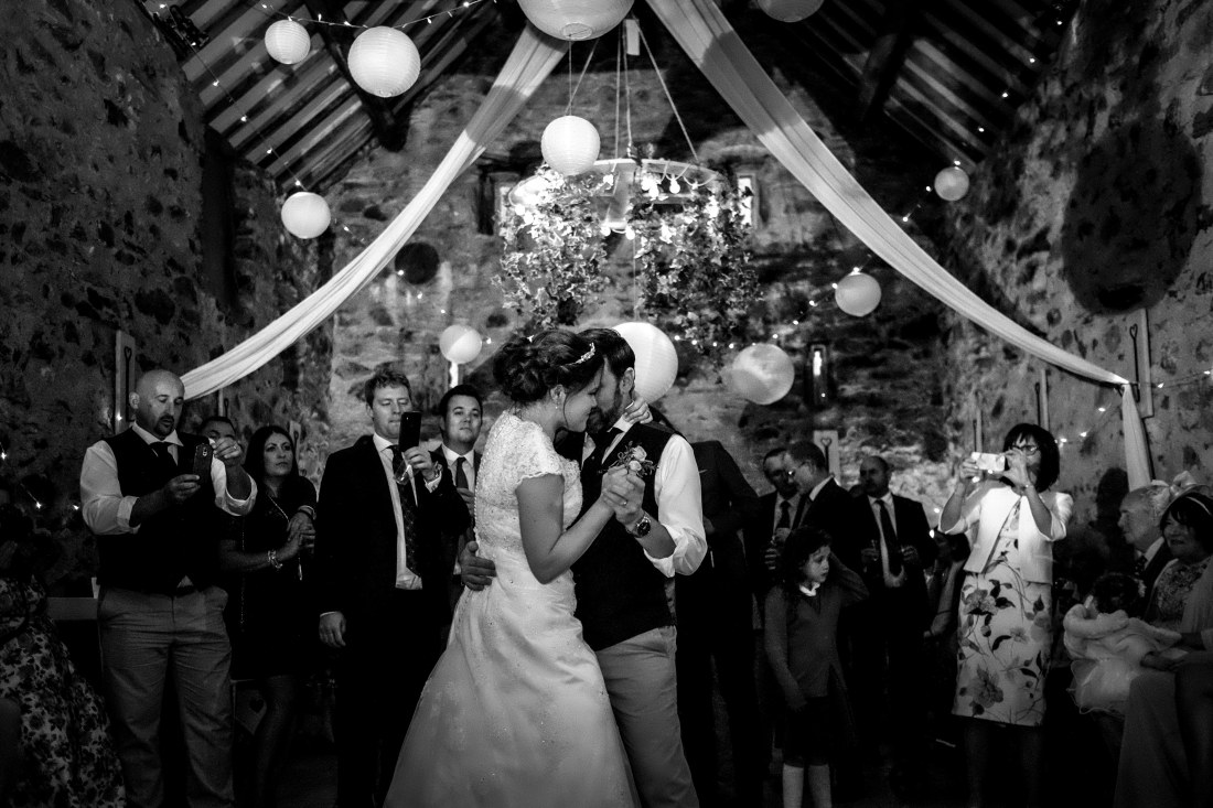Hafod Farm Wedding - Natalie and Vince first dance.