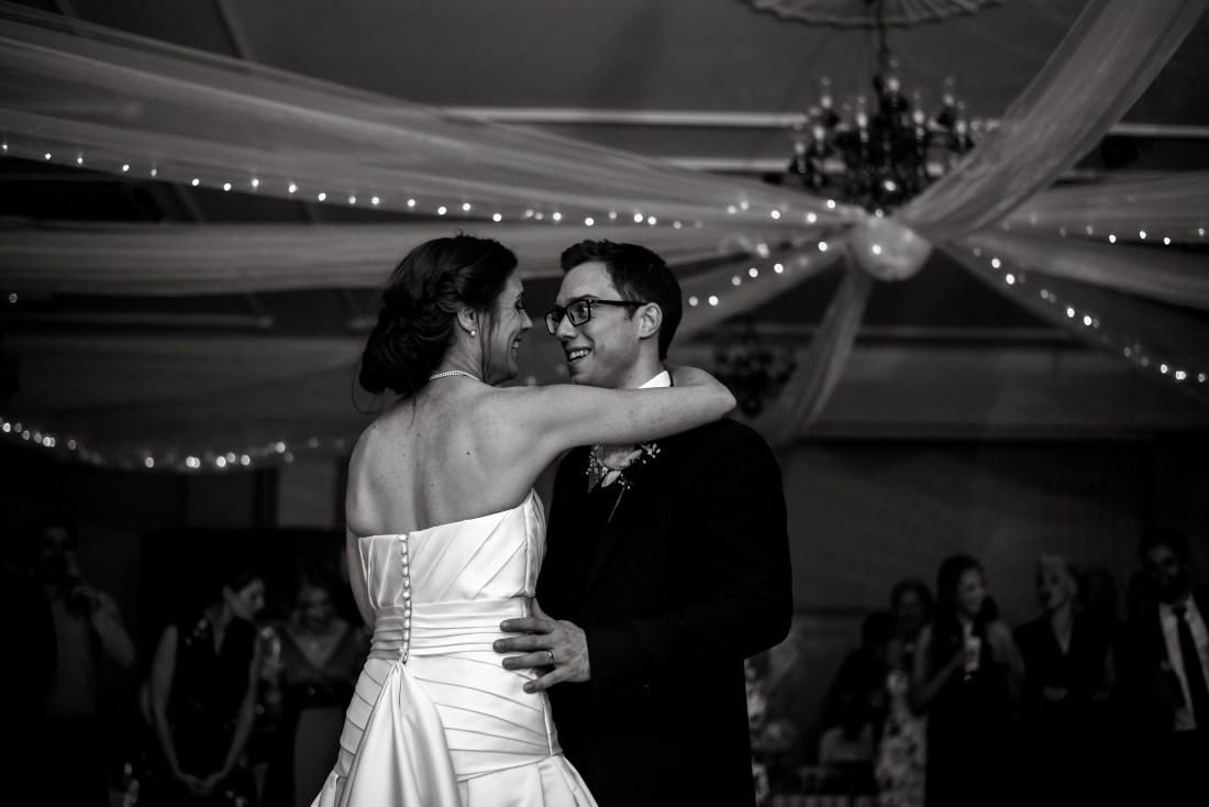 Statham Lodge Wedding - Bride and Groom first dance