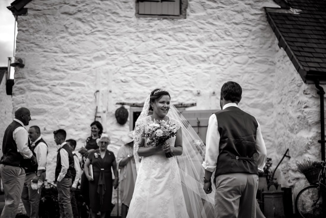 Hafod Farm Wedding - Lovely moment.