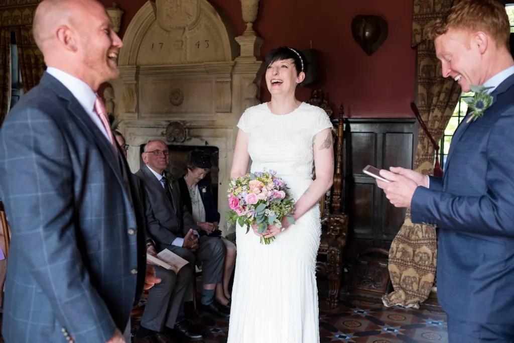 Rachel and Paul's Trevor Hall wedding in Llangollen
