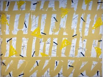 Untitled, 1991 Acryl on canvas 90 x 116 cm