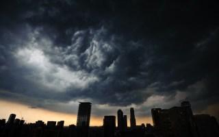 Ominous Nimbus Over Toronto