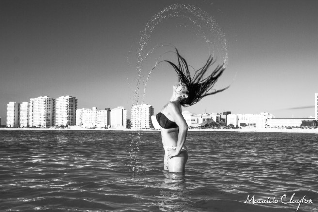 #freezed #blackandwhite #cancun @claytoncancun