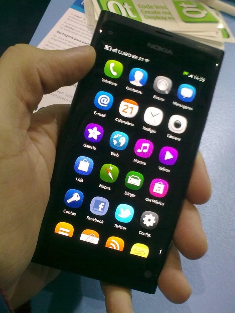 N9, o mais novo Smartphone da Nokia. (2/3)