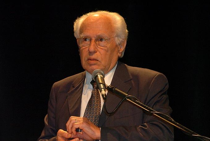 O físico José Goldemberg, ex-reitor da USP. Imagem: Cecília Bastos/Jornal da USP/Divulgação