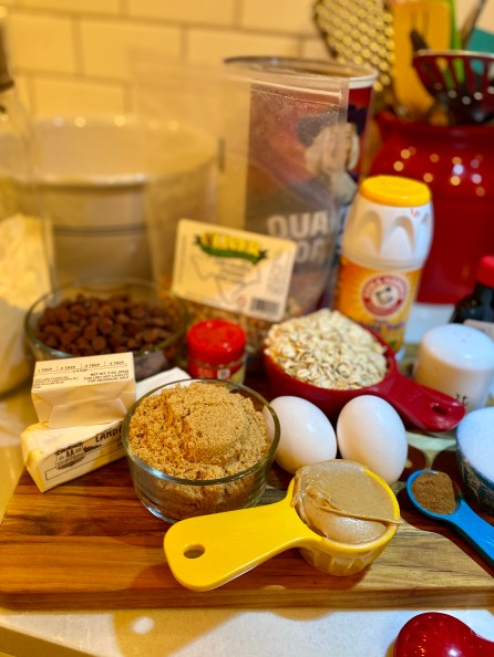 Chocolate Chip Oatmeal Cookie Recipe from Scratch