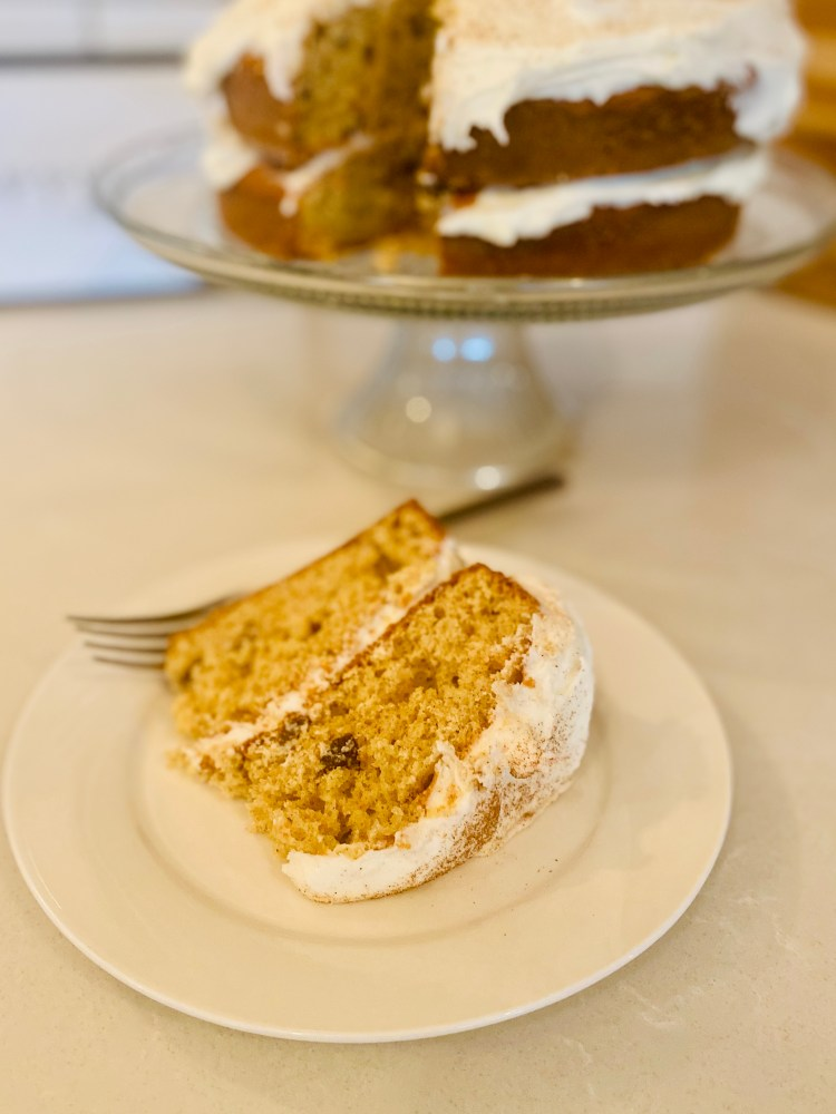 Carrot Cake with Buttercream Icing
