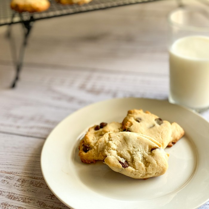 Chocolate Chip Butter Cookie Recipe