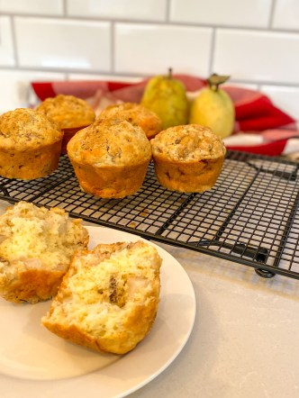 Pear and Banana Muffin Recipe