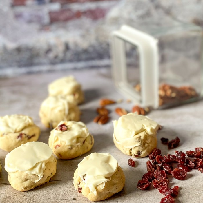 Cranberry Pecan Sandie Recipe