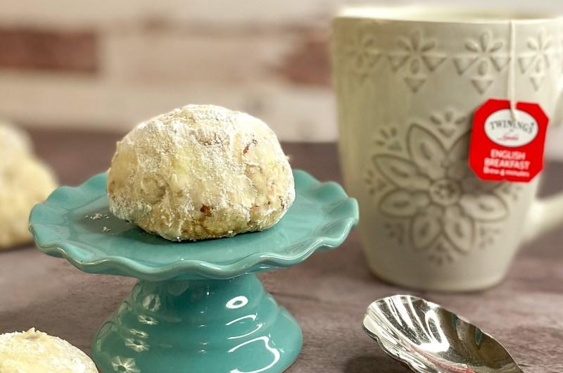 Butter Pecan Tea Cakes