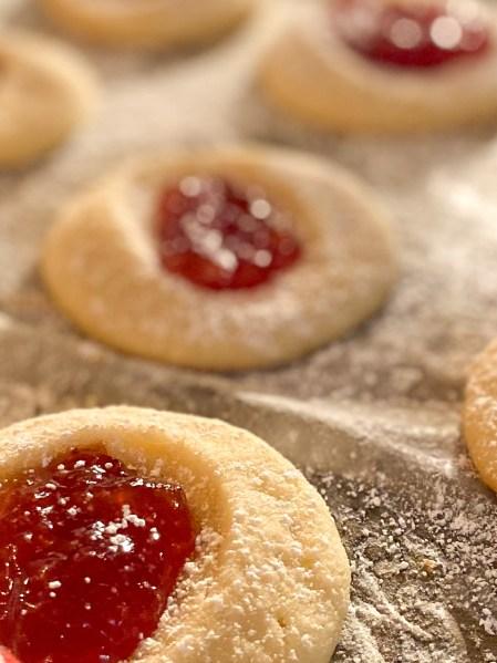 Strawberry Thumbprint Cookie Recipe