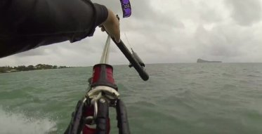 Anse La Raie Kitesurf with an excellent view of north islands
