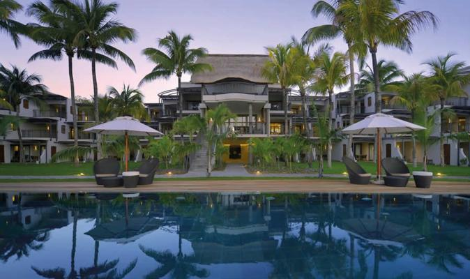 The Royal Palm Beachcomber Hotel in Mauritius