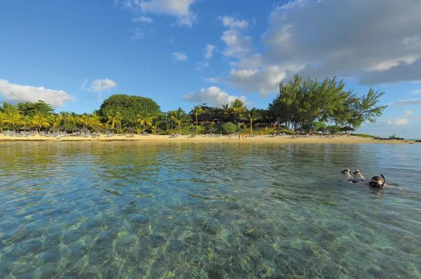 Snorkelling by Canonnier Beach Mauritius