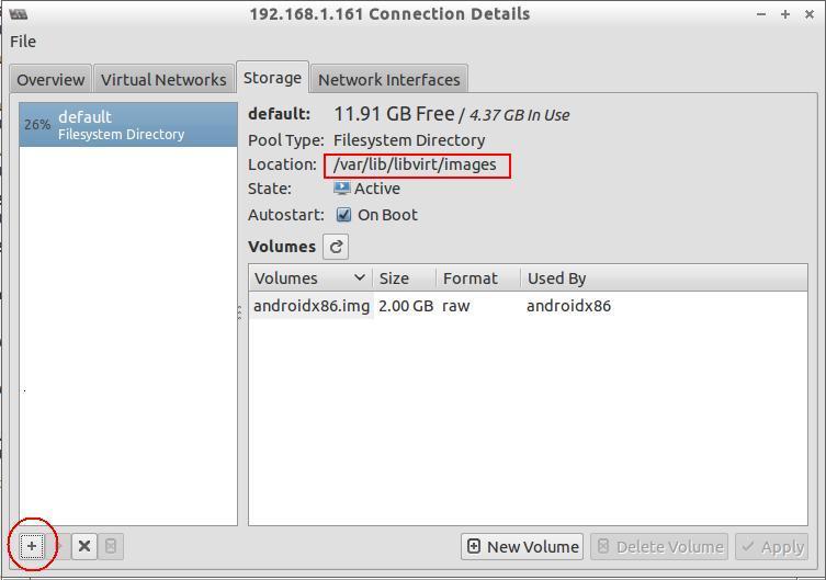 Virtual Manager Storage
