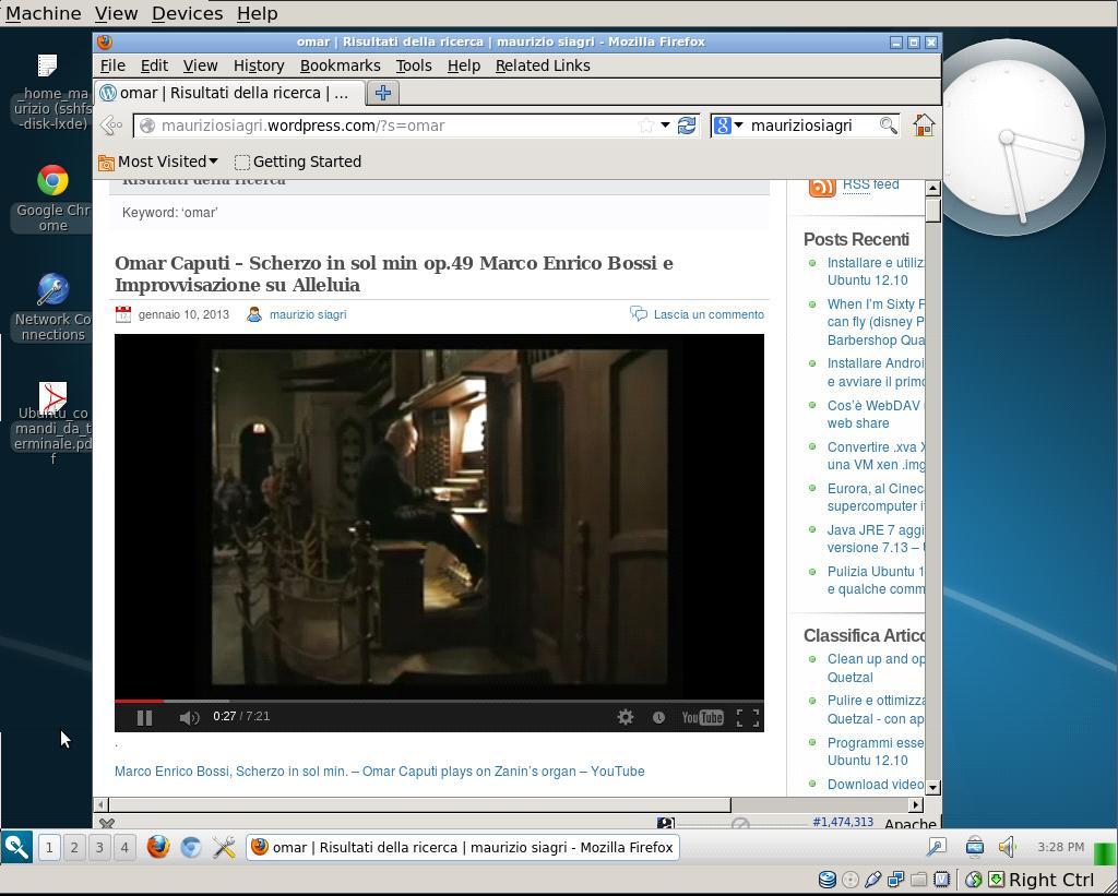 virtualbox Lubuntu1210 Razor DM