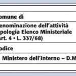 Registrazione delle attrazioni, modificato il dm 18 maggio 2007