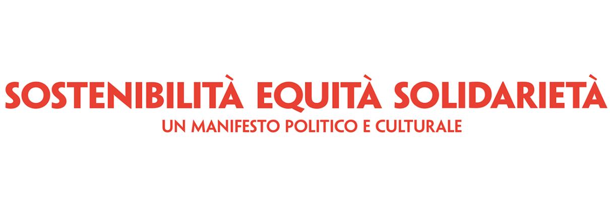 Appello sostenibilita equita solidarieta