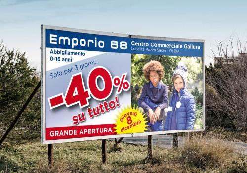 Emporio 88 - Manifesto 6x3