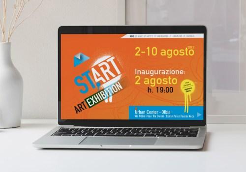 Start Art Exhibition - Mostra Internazionale Di Arte Contemporanea - Sito Internet
