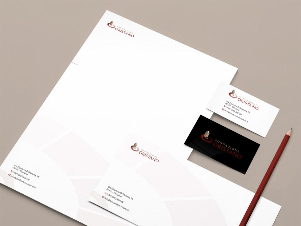 Fondazione Oristano - Proposta logo - Immagine coordinata