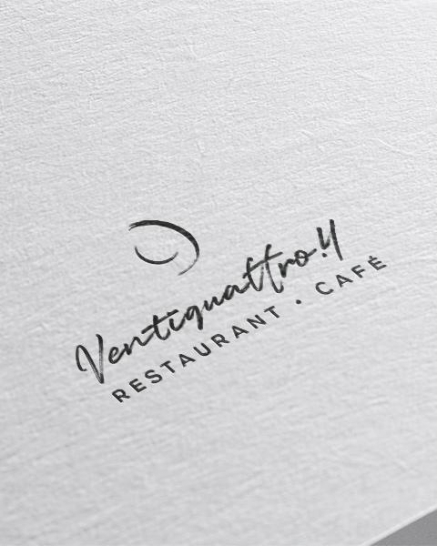 Ventiquattro.4 - Logo design (mobile)
