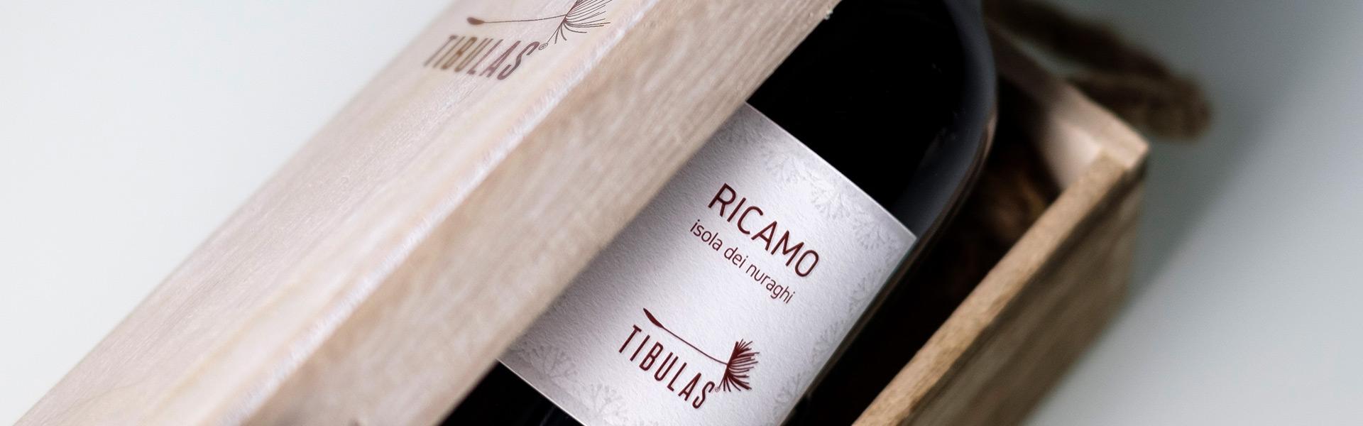 Ricamo by Tibulas - Packaging design (desktop)