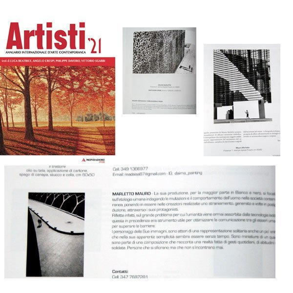 ARTISTI 21 è ideato per rappresentare al meglio l'Arte nel mondo, Un confronto ragionato tra i grandi lasciti stilistici del passato e le più attuali tendenze espressive.