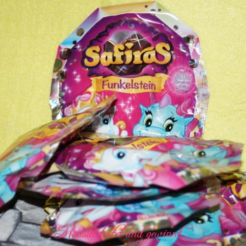 Safiras verpackt
