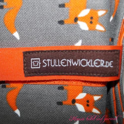 Stullenwickler Nr. 3 Feuriger Fuchs nah