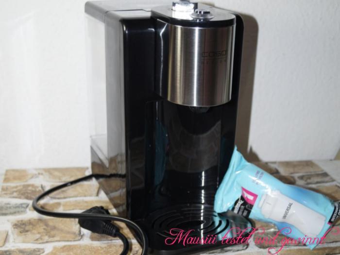 Wasserspender HW400 Caso Design ausgepackt