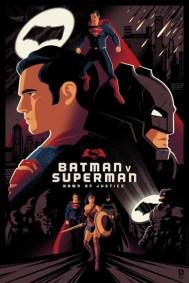 Batman v Superman Dawn Of Justice by Tom Whalen (Regular)