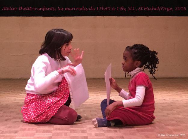 Atelier théâtre enfants SLC