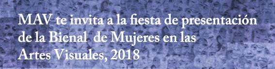 Presentación Bienal Miradas de Mujeres 2018
