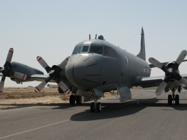 New crew completes their first solo mission during Operation IMPACT in Kuwait (Photo: Op Impact, DND)