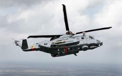 First CH-148 Cyclone Deployment