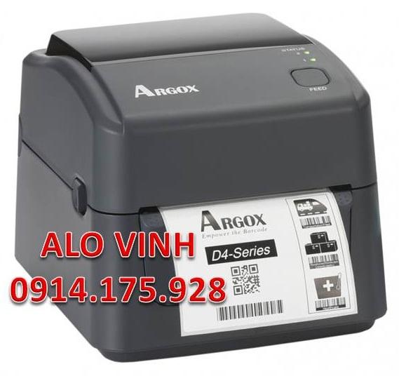Máy In Argox D4-350 300 DPI Giá Rẻ