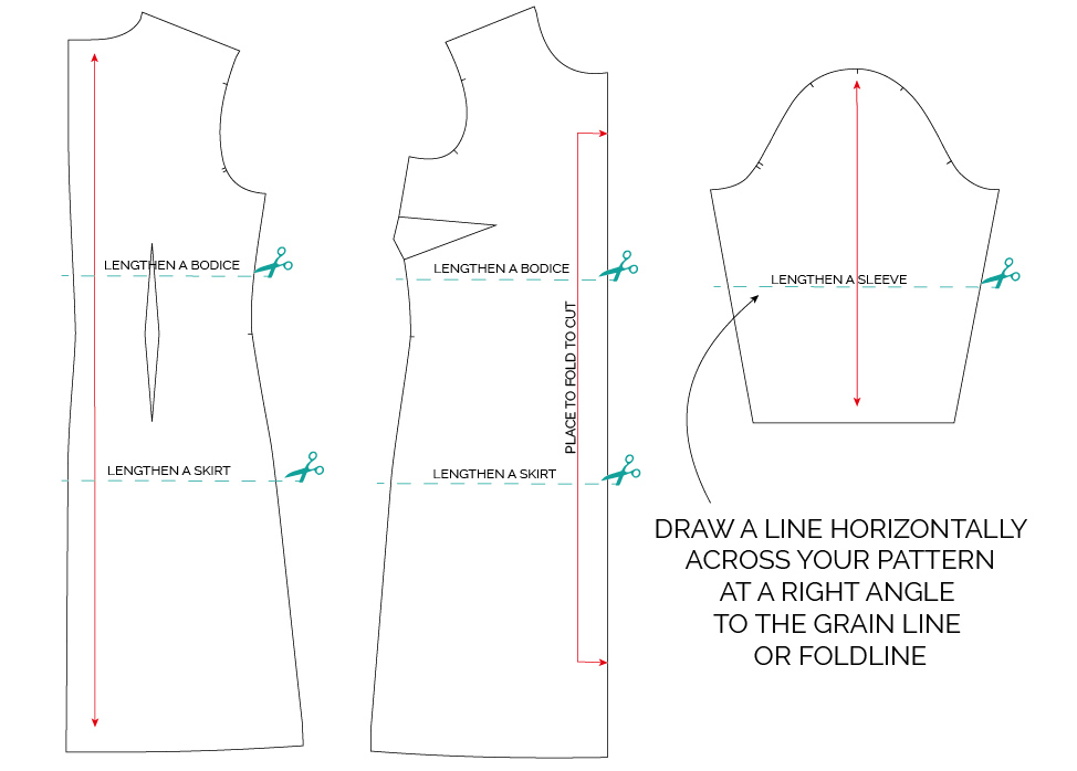Drafting Tutorial A Line Skirt