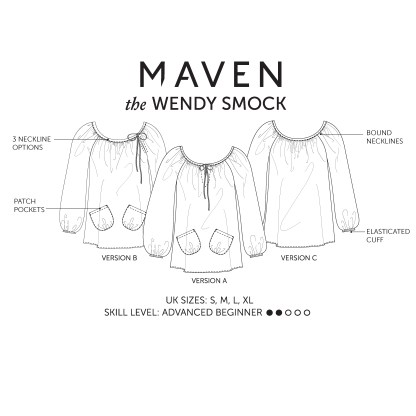 THE WENDY SMOCK_MAVEN PATTERNS