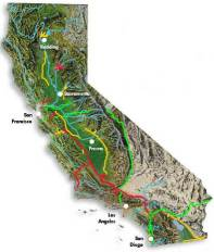 California water infrastructure, by Department of Water Resources