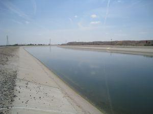 California Aqueduct at Kern Water Bank #7 Apr 2010