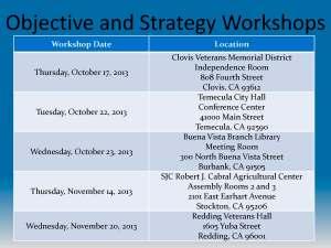 IRWM Workshops