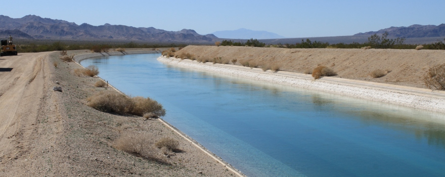 Colorado River Aqueduct by Hayfield Feb 2012 #1