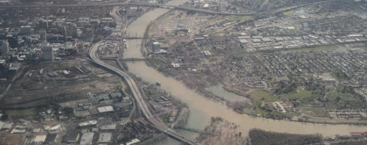 Sacramento flooding aerial Mar 2011 #14