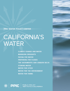 CAs Water PPIC