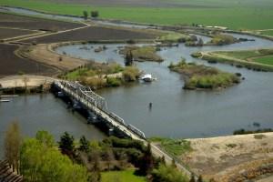 DWR Delta hwy 4 bridge #6