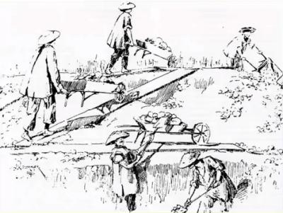 8 Chinese laborers